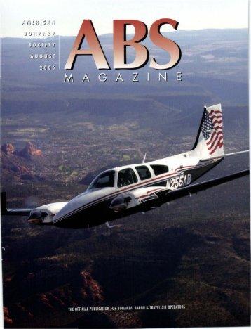 August 2006 - American Bonanza Society