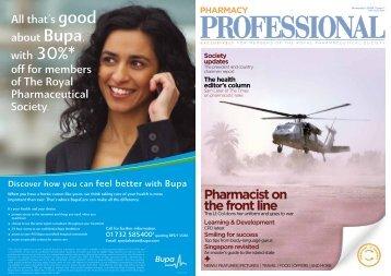 Pharmacy Professional - Royal Pharmaceutical Society