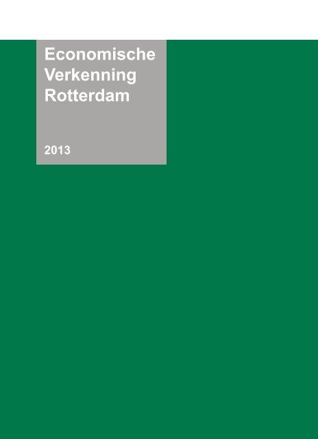 Economische Verkenning Rotterdam 2013 - Gemeente Rotterdam