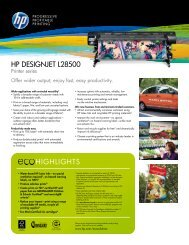 HP Designjet L28500 Printer