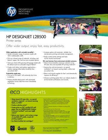 HP Designjet L28500 Printer