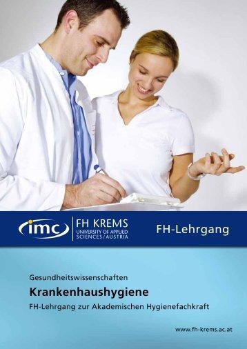 Folder Download (.pdf) - IMC Fachhochschule Krems GmbH