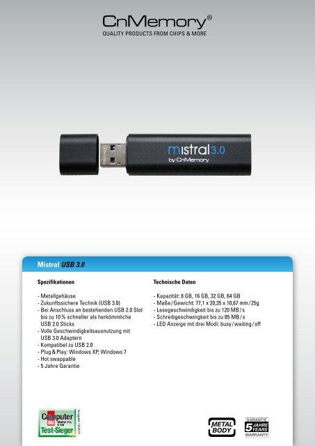 CNMEMORY USB WINDOWS 7 64 DRIVER