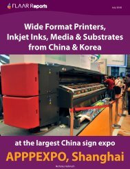 Wide Format Printers, Inkjet Inks, Media & Substrates