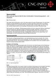 Spannmittel - OERTLI Werkzeuge AG