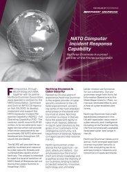 NATO Computer Incident Response Capability - Northrop Grumman ...