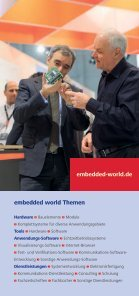 Ihre Informationen zum Messebesuch - embedded world - Seite 2