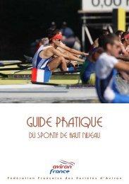 [pdf] édition 2010 - Fédération française des sociétés d'aviron
