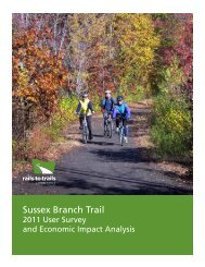Sussex Branch Trail (2012) - Rails-to-Trails Conservancy