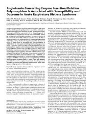 Angiotensin Converting Enzyme Insertion/Deletion Polymorphism Is ...