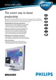 23-inch LCD monitor 230W5BS 230W5BS The smart way to boost