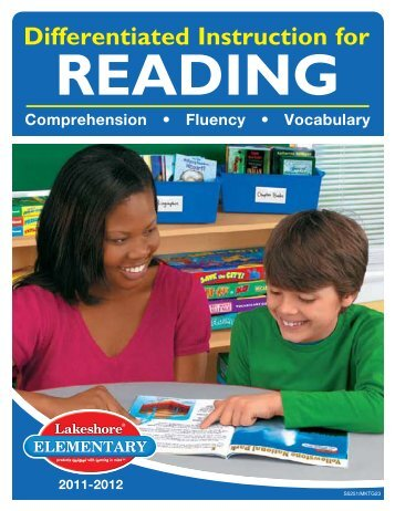 Differentiated Instruction for Reading - Lakeshore Learning Materials