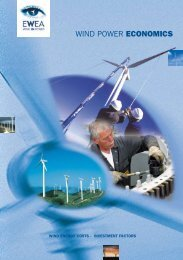 WIND POWER ECONOMICS - European Wind Energy Association
