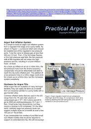 Practical Argon - bei Swiss-Cave-Diving