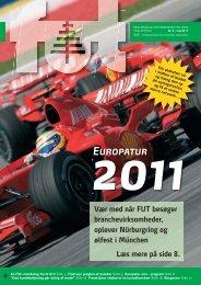 TILMELDINGSKUPON Med FUT til Europa i september 2011