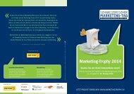 Hier erfahren Sie mehr über die Marketing-Trophy 2014.