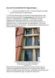 Aus dem Gruselkabinett für Abgasanlagen - Schornsteinfeger ...