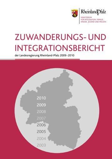 Zuwanderungs- und Integrationsbericht der Landesregierung 2009