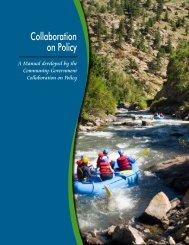 Collaboration on Policy - Tamarack CCI