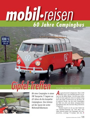 Artikel aus reisemobil International 10/2011 - Reisemobil Interaktiv