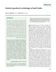 Assisted reproductive technology in Saudi Arabia