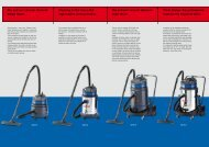 Dry and wet vacuum cleaners - Mopex
