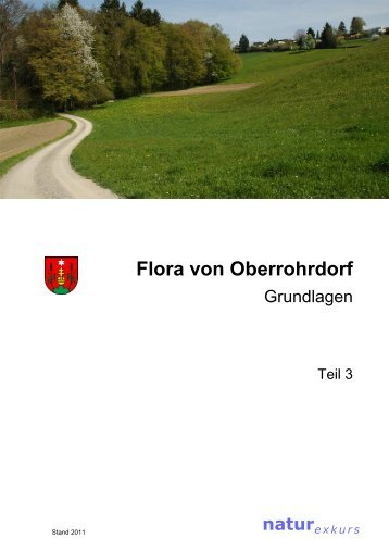 Flora von Oberrohrdorf (Teil 3: Grundlagen) - Gemeinde Oberrohrdorf