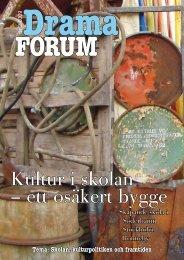 Tidningen Dramaforum nr 2 2009.pdf - Söderhamns kommun