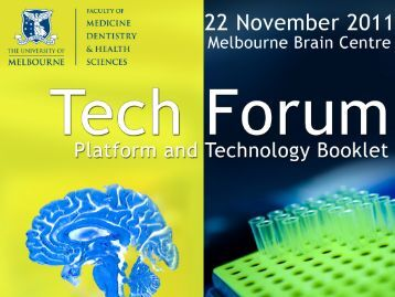 Platform/Technology Page - Research - University of Melbourne