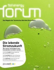 1to1 energy forum 2/2013 - Technische Betriebe Glarus Nord