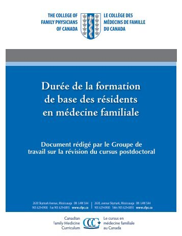 Télécharger - The College of Family Physicians Canada