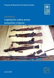 Legislación sobre armas pequeñas y ligeras - PoA-ISS