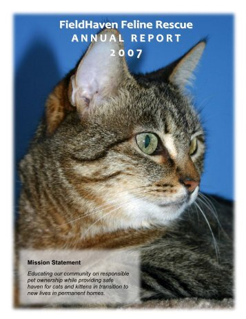 2007 Annual Report - FieldHaven