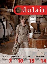 Modulair 8 (jaargang 27, 13 juli 2012) - Open Universiteit Nederland