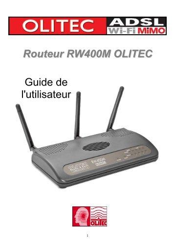 moniteur wifi olitec