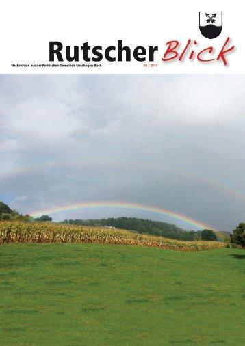 Rutscher Blick Oktober 2013 [PDF, 6.00 MB]