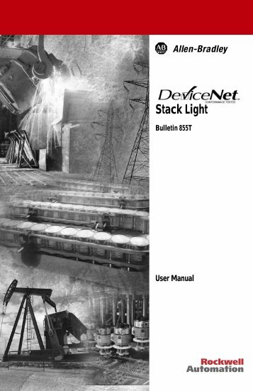 Overview of DeviceNet Stack Light