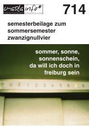 714 - Albert-Ludwigs-Universität Freiburg