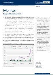 Euro debt crisis watch - Danske Analyse - Danske Bank