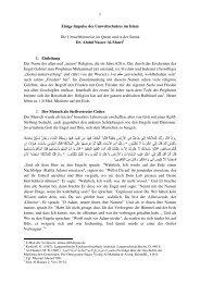 Der Umweltschutz im Islam 2011 - Way to Allah