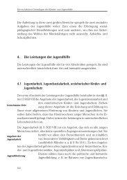 4. Die Leistungen der Jugendhilfe - WissensSchule.de