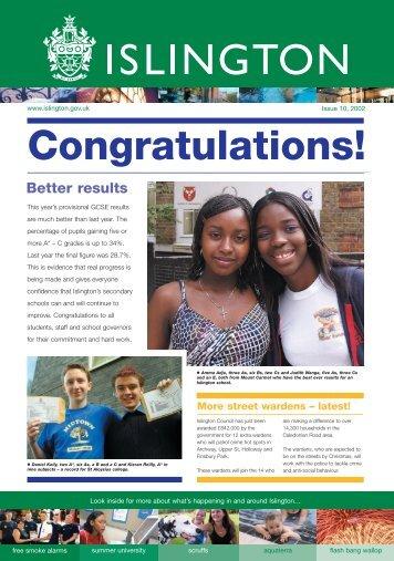 Download Islington - Issue 10 ( pdf - 2.5MB ) - Islington Council