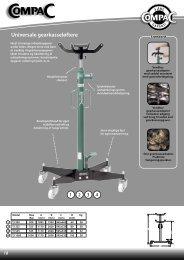 Universale gearkasseløftere - CompaC