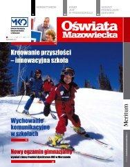 Oświata Mazowiecka nr 10 (grudzień2011/styczeń 2012)