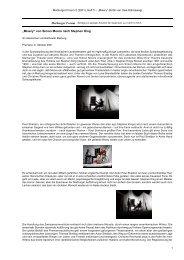 Diese Theaterkritik im pdf-Format herunterladen - Philosophia online
