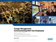 Outage Management - Texas Public Power Association!