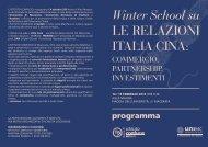 Programma completo (pdf, 909 Kb) - Università degli Studi di Macerata