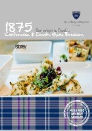 Catering - Queen Margaret University