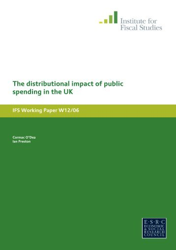 Download full version (PDF 719 KB) - The Institute For Fiscal Studies