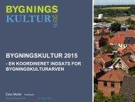 Bygningskultur 2015 - Rum - Arkitektskolen Aarhus